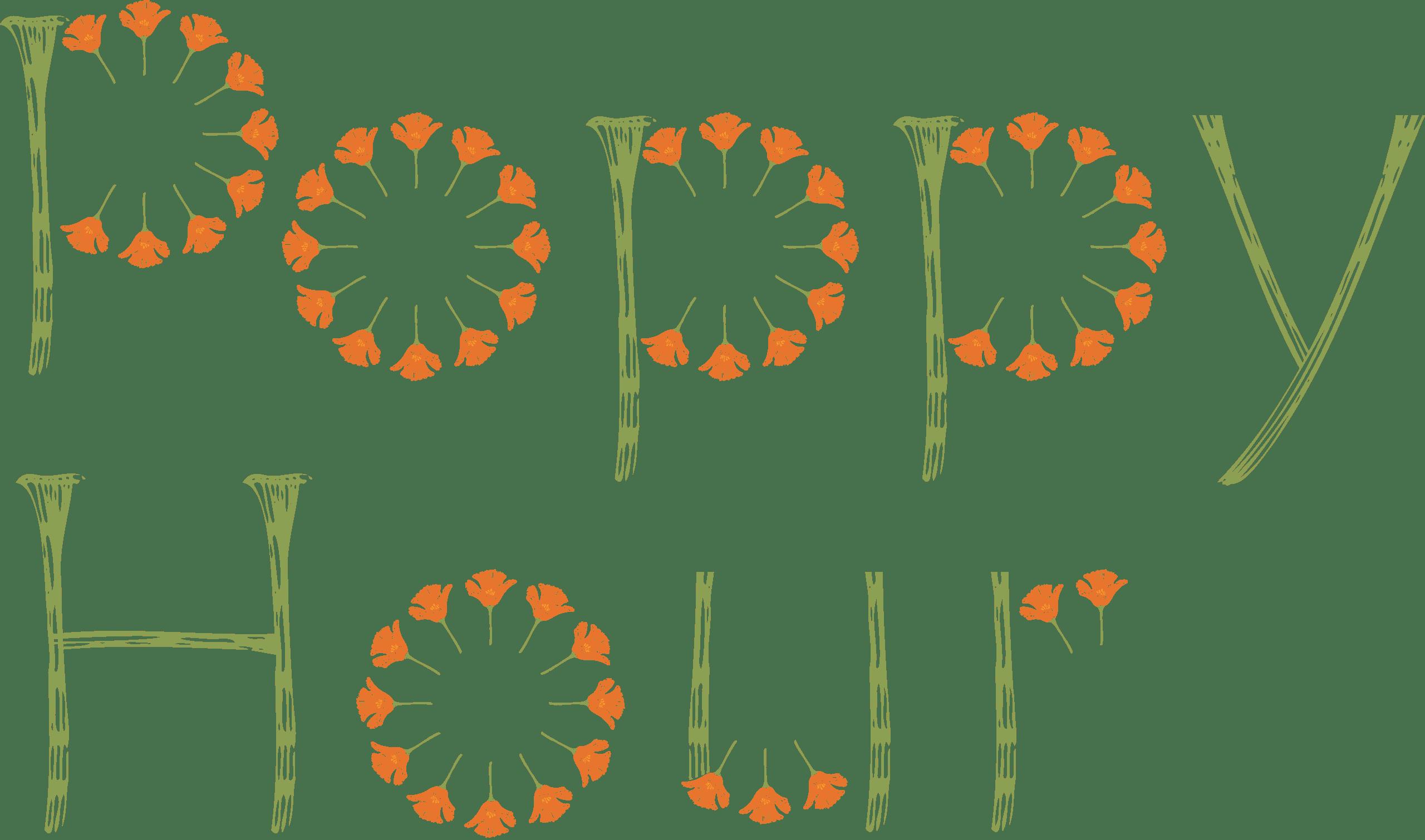 poppy hour logo